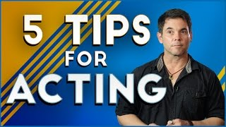 Download 5 Tips For Acting Video