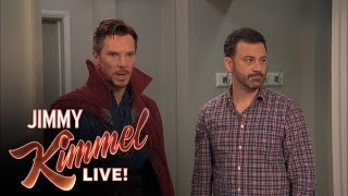 Download Jimmy Kimmel Hires Dr Strange Video