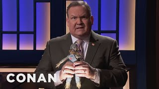 Download Andy Gets Out In Front Of Another Scandal - CONAN on TBS Video