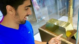 Download $6.5 Million Dollar Gold Bar !! 160kg of pure Gold !!! Video