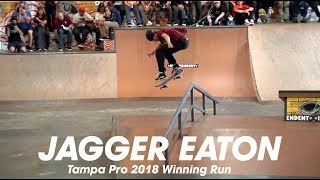 Download Jagger Eaton: Tampa Pro 2018 | 1st Place Run Video