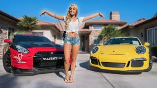 Download SCARING HOT GIRL IN 800HP GTR! Video
