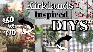 Download DIY Kirklands Inspired Decor | Dollar Tree Farmhouse Christmas DIYS | Krafts by Katelyn Video