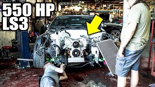 Download 550HP LS3 GOES IN THE 350Z! Video