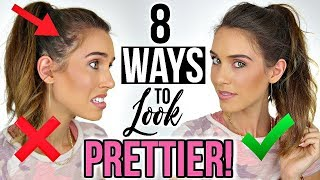Download 8 WAYS TO INSTANTLY LOOK PRETTIER! Video