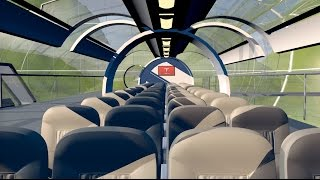 Download Hyperloop Transport Concept - 3D Animation Video
