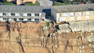 Download WATCH: Pacifica Coastal Erosion Caught on Drone Video Video