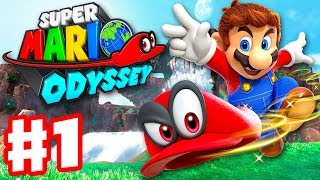 Download Super Mario Odyssey - Gameplay Walkthrough Part 1 - Cap and Cascade Kingdom! (Nintendo Switch) Video