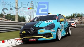 Download Fun Renault Clio Cup Racing Project Cars 2 with Community | Live Video