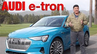 Download 2019 Audi eTron First Drive & Review Video