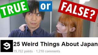 Download 25 Weird Things about Japan | TRUE or FALSE? Video