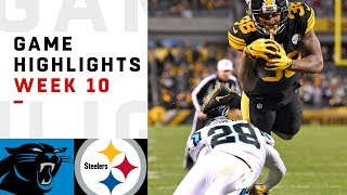 Download Panthers vs. Steelers Week 10 Highlights | NFL 2018 Video
