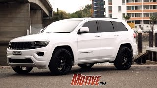 Download PIMP MY WIFE'S RIDE - Murdered Out Jeep Grand Cherokee - Motive Garage Video