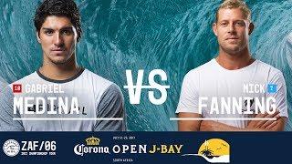 Download Gabriel Medina vs. Mick Fanning - Quarterfinals, Heat 1 - Corona Open J-Bay 2017 Video