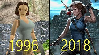 Download Evolution of Tomb Raider Games 1996-2018 Video