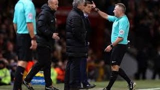 Download Jose Mourinho Sent Off vs West Ham United After Kicking Water Bottle Video