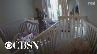Download Nanny cam catches repairman in child's bedroom Video