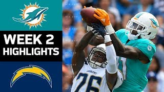 Download Dolphins vs. Chargers | NFL Week 2 Game Highlights Video