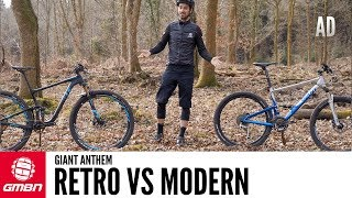 Download Retro Vs Modern Full Suspension Bike | The Giant Anthem Through The Years Video