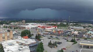 Download Severe thunderstorms pummel Sault Ste. Marie Video