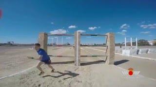 Download Academia General del Aire: pista de obstáculos de entrenamiento Video