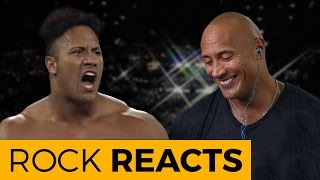 Download The Rock Reacts to His First WWE Match: 20 YEARS OF THE ROCK Video