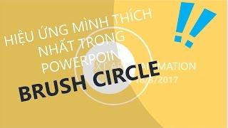 Download [HƯỚNG DẪN POWERPOINT] Hiệu ứng Brush Circle - bóng nổ animation Video