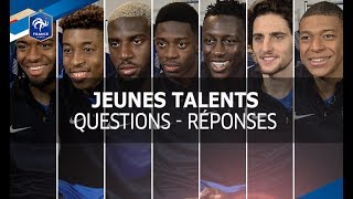 Download Equipe de France, Jeunes talents: questions - réponses I FFF 2017 Video