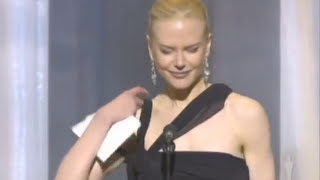 Download Nicole Kidman winning Best Actress Video