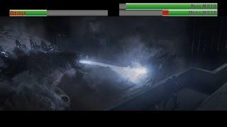 Download Godzilla vs M.U.T.O's...with healthbars Video