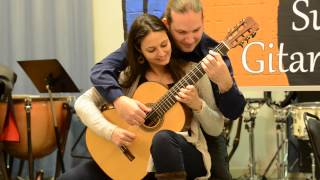 Download Rondo Alla Turca - Marco Tamayo & Anabel Montesinos (4 hand guitar) Video