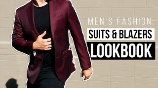 Download MEN'S FASHION: PARTY TO BUSINESS WEAR LOOKBOOK (SUITS) Video