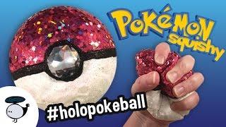 Download HOLO GLITTER POKEBALL DECO SQUISHY DIY - POKEMON TUTORIAL Video