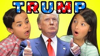 Download KIDS REACT TO DONALD TRUMP Video
