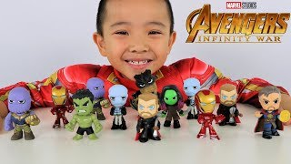 Download Surprise Mystery Minis Avengers Infinity War Full Box Toys Opening Fun With CKN Toys Video
