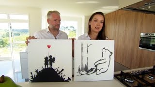 Download Meet the Kiwi couple who purchased an original Banksy on the streets of New York for just $60 each Video