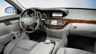 Download 2005 Mercedes S-class w221 interior - the man and machine in harmony Video