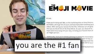 Download I got invited to the world premiere of The Emoji Movie Video