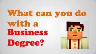 Download What can you do with a business degree? Business administration degree jobs, Careers in business Video