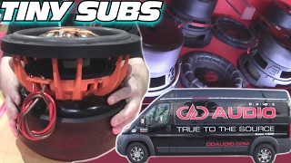 Download BIG SOUND from 8″ Subwoofers w/ 16 Digital Designs Subs & INVERTED 15's in a SMALL Car Audio Install Video