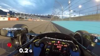 Download Visor Cam: Graham Rahal at Phoenix Raceway Video