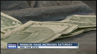 Download New York's minimum wage will increase on Saturday Video