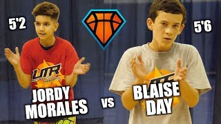 Download 5'2 Jordy Morales & 5'6 Blaise Day Get STRAIGHT BUCKETS at the Under the Radar Hoops!! | 2022 PGs Video