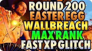 Download BO4 Zombie Glitches: Round 200 Easter Egg Wallbreach Max Rank Fast XP Glitch - Alpha Omega Glitches Video