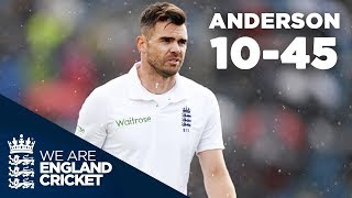 Download Anderson's Deadliest Spell? Jimmy Takes 10-45 at Headingley | England v Sri Lanka 2016 - Highlights Video
