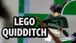 Download Huge LEGO Quidditch Stadium Harry Potter Movie Scene | BrickFair Virginia 2016 Video