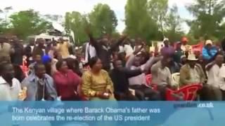Download Kenyans celebrate Obama Win Video