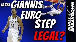 Download Is The GIANNIS Euro Step LEGAL? Video
