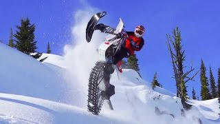 Download Ronnie Renner Snow Biking in Idaho Backcountry Video