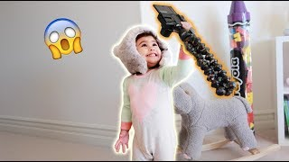 Download WE'VE NEVER SEEN A BABY DO THIS ON YOUTUBE BEFORE!!! **ADORABLE** Video